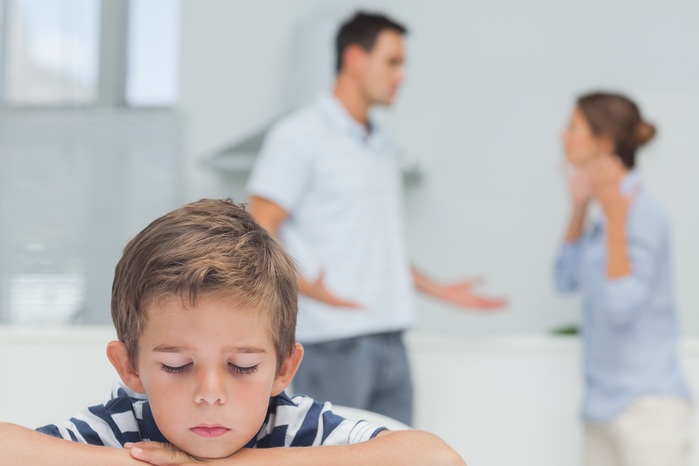 The Impact of Arguing in Front of Your Children
